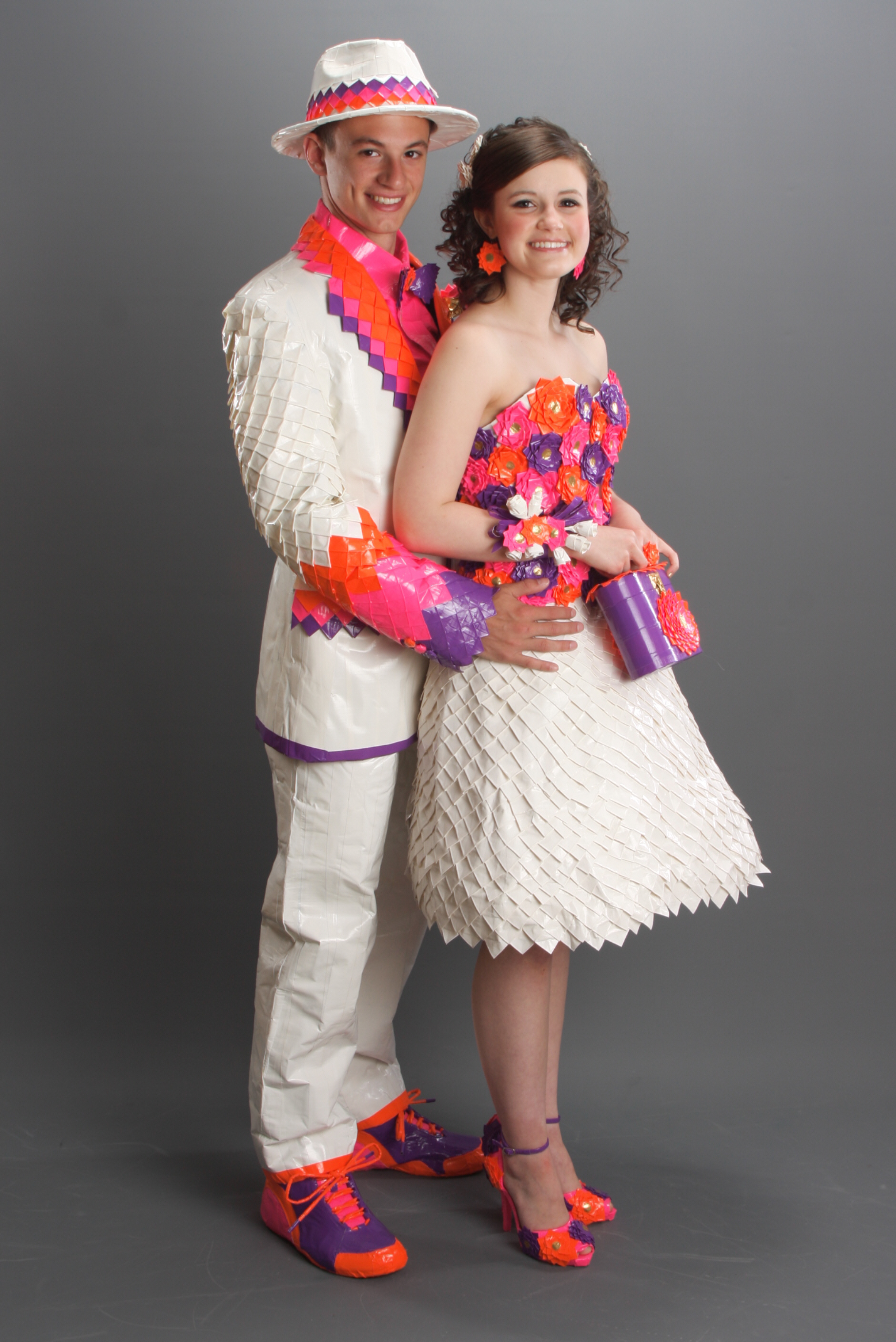 Duct Tape Prom Dress 12 Innovative Prom Ensembles Made