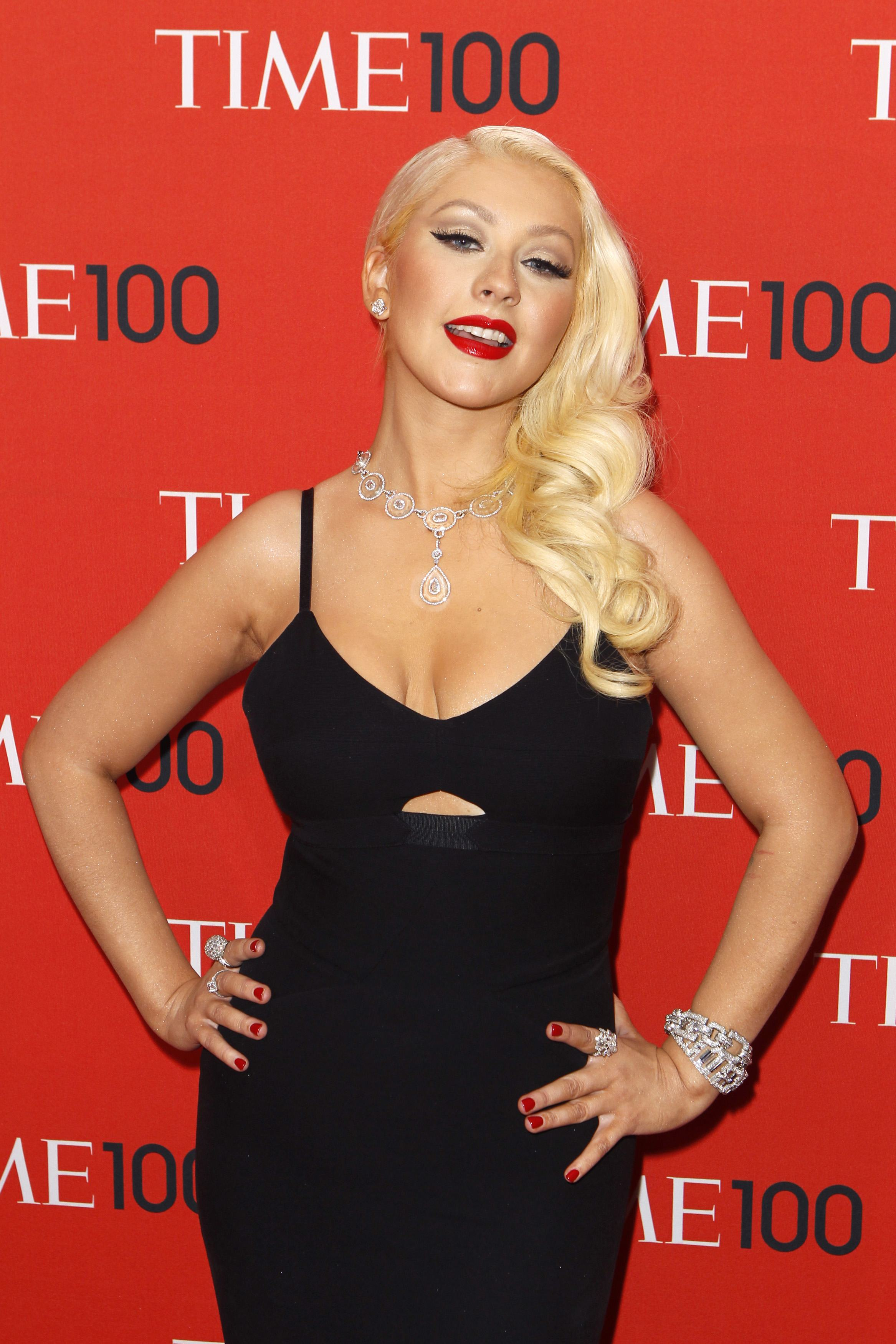 Christina Aguilera Slim: Singer Debuts New Figure At Time 100 Gala ...