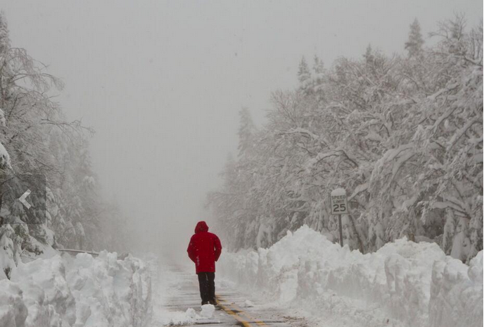 City Of Plattsburgh >> N.Y. 3 Feet Of Snow: 36 Inches Of Snow Fall Upstate