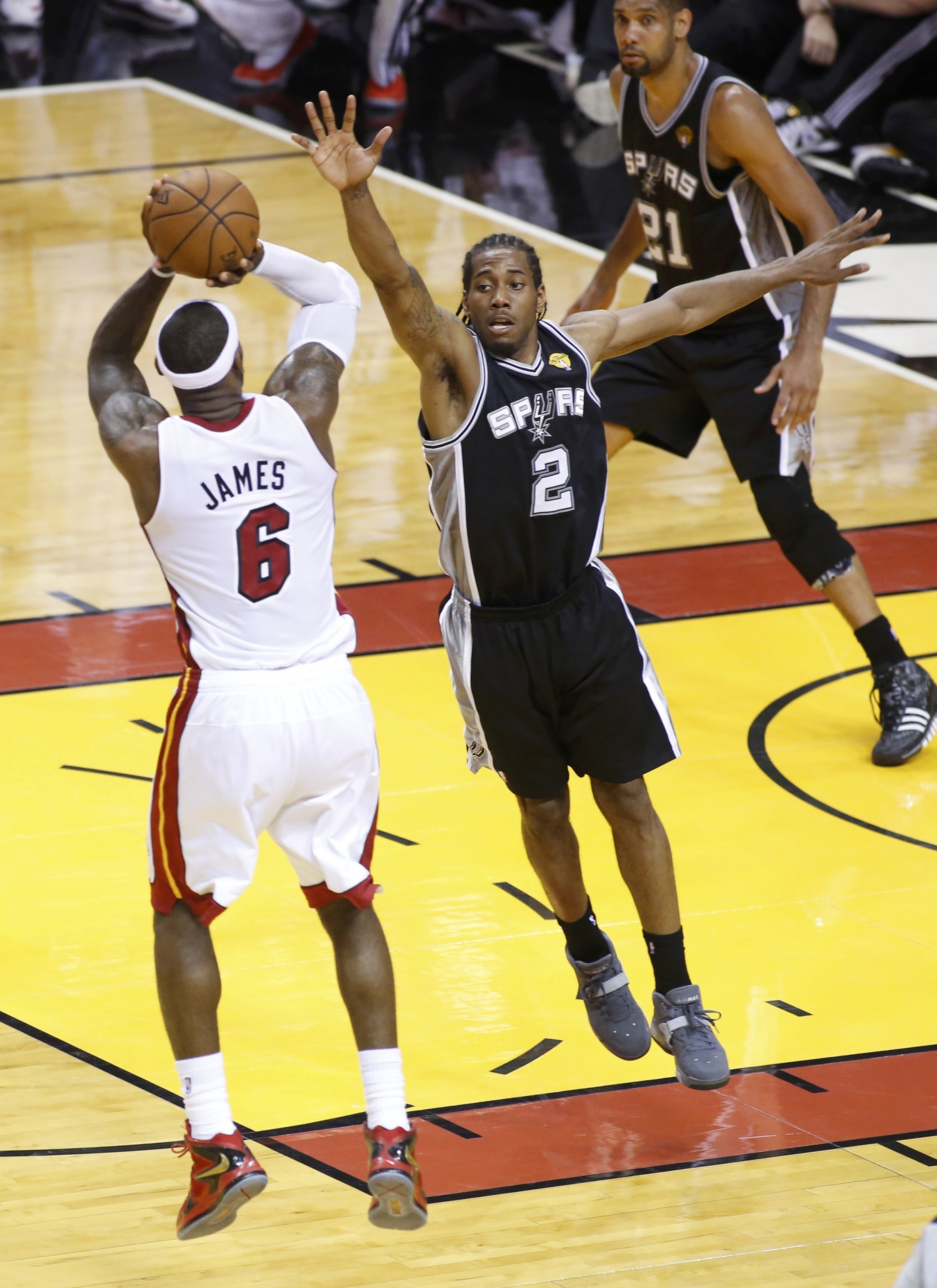 NBA Finals: LeBron James And The Miami Heat Win Their Second-Straight Title, Defeating The San ...
