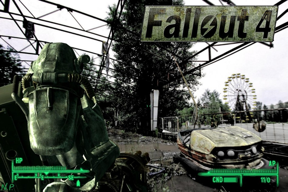 Fallout 3 4 Game Poster Fallout Series Game Coated paper