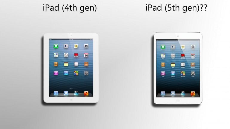 Ipad 5 Release Date Rumors Next Ipad To Use Same Touch