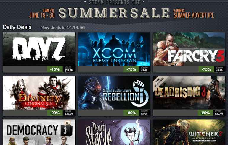 Steam Summer Sale 2014 Top 12 Games You Must Buy Video