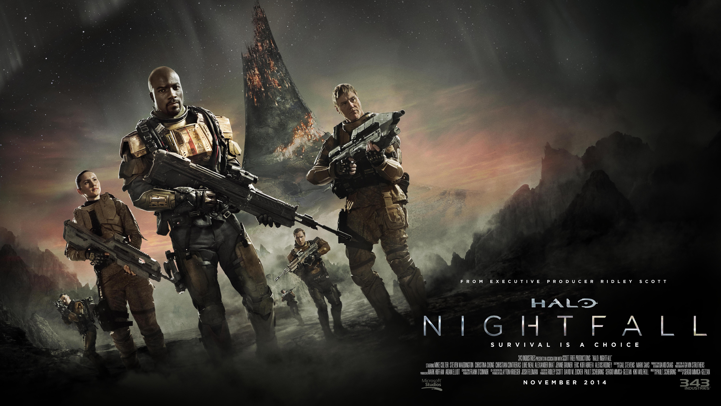 ... Release Date Announced :: Halo: Nightfall Trailer and Release Date