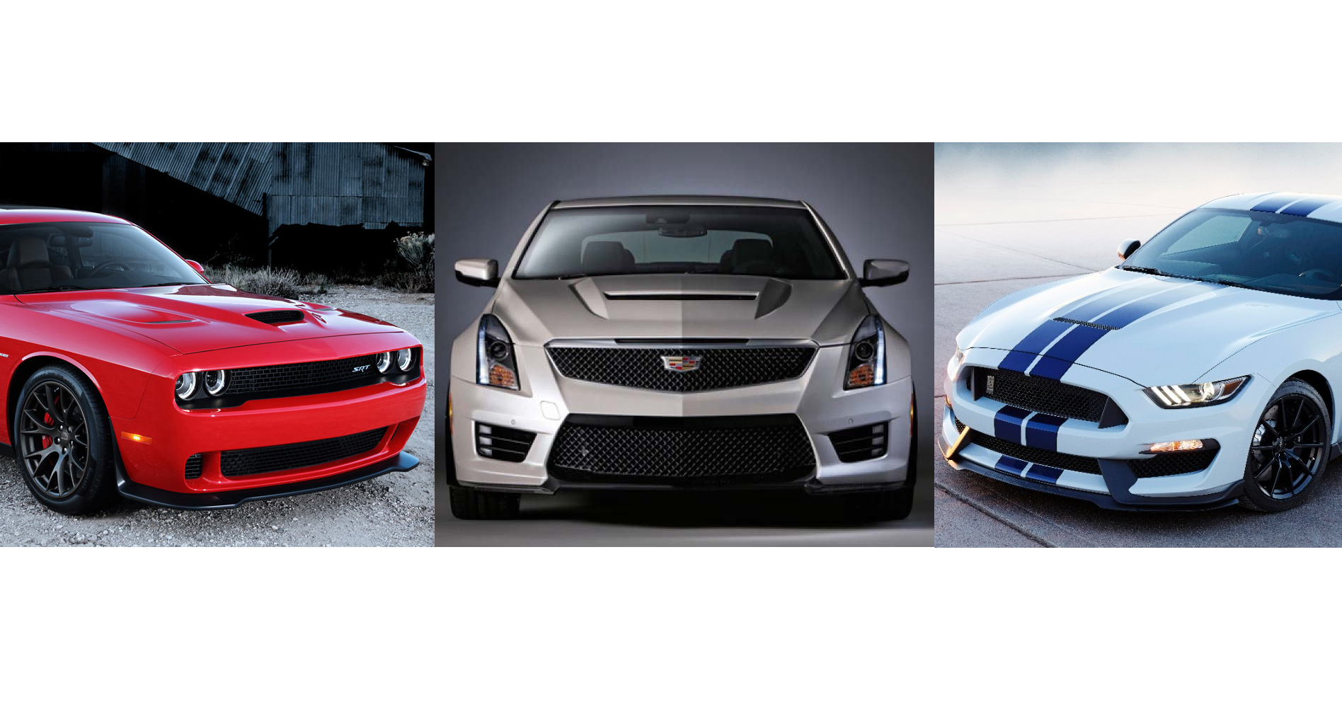 2015 mustang gt350 vs challenger hellcat vs cadillac ats. Black Bedroom Furniture Sets. Home Design Ideas