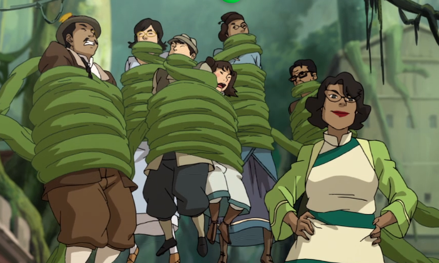 Online Dating Sites >> Watch 'Legend Of Korra' Season 4 Episode 9 Online: Find Out Why Spirit Vines Are Attacking In ...