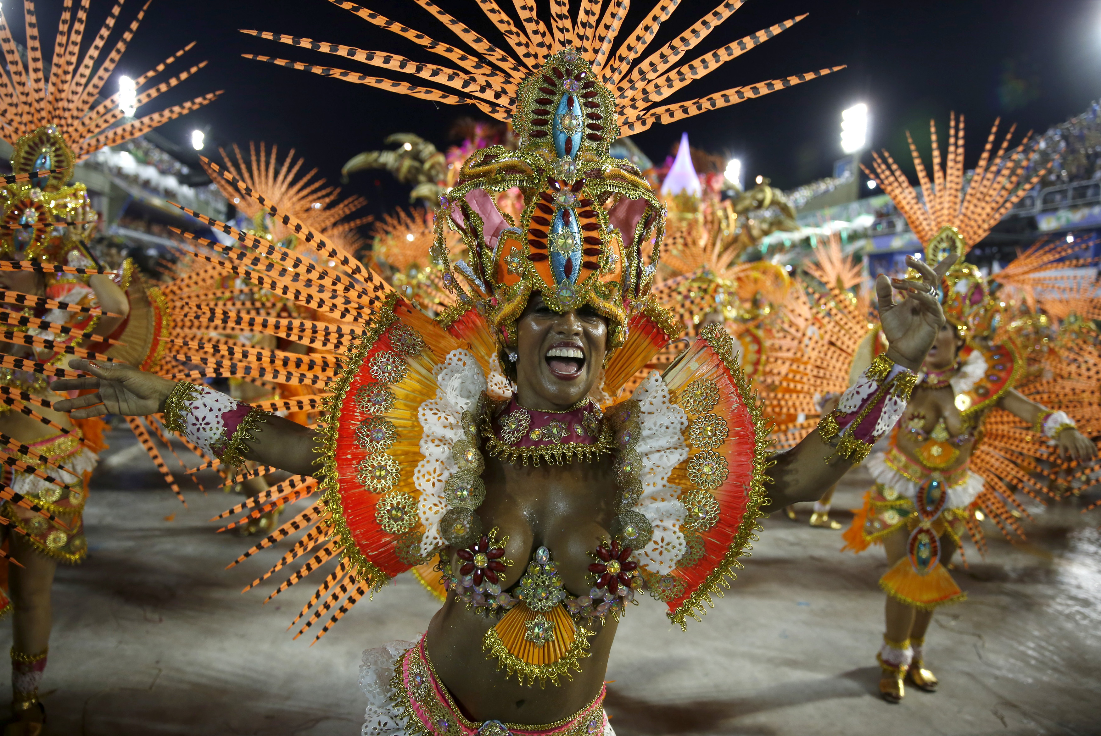 Step into the Sambadrome! Party during Carnival in Rio de
