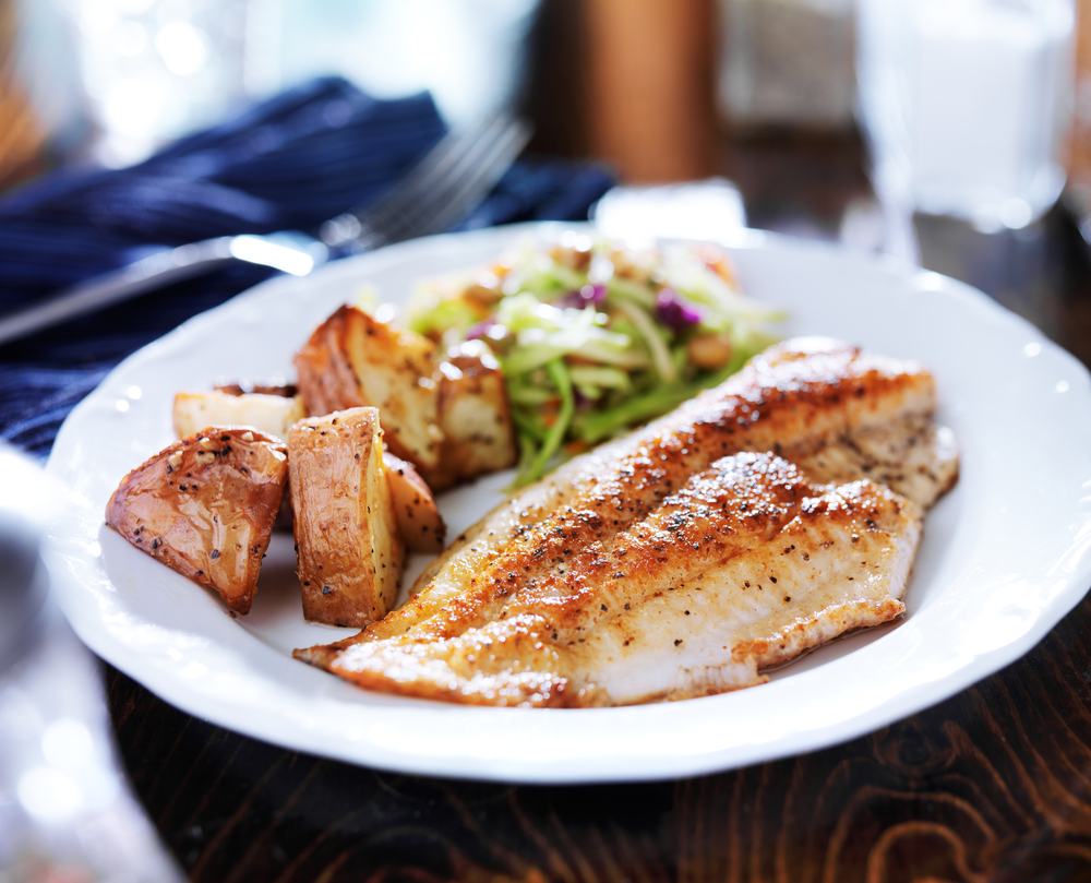 Lent recipes 10 fish and vegetarian dishes that are full for Fish dishes for dinner