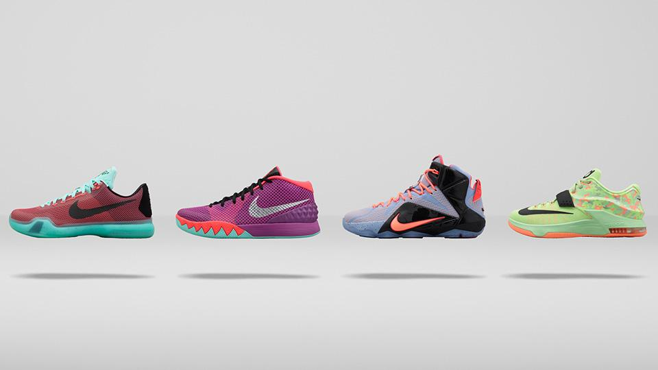 timeless design 66fdd 472d6 Easter 2015: Nike, Adidas Unveil New Pastel Shoes For LeBron ...