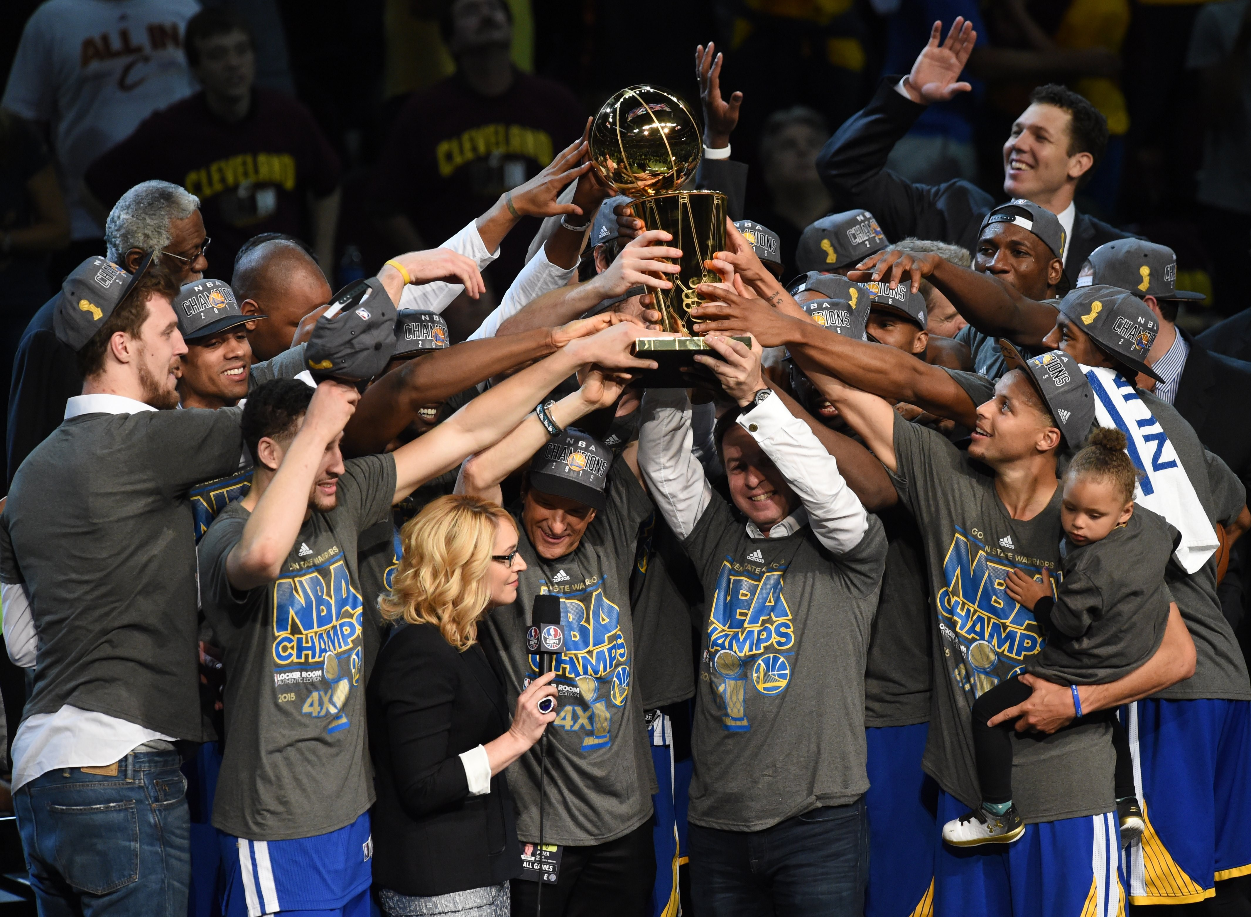 NBA Finals 2015: Golden State Warriors Defeat LeBron James And Cleveland Cavaliers 105-97 To Win ...