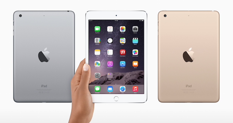 iPad Mini 4 is rumored to be released sometime October of this year.