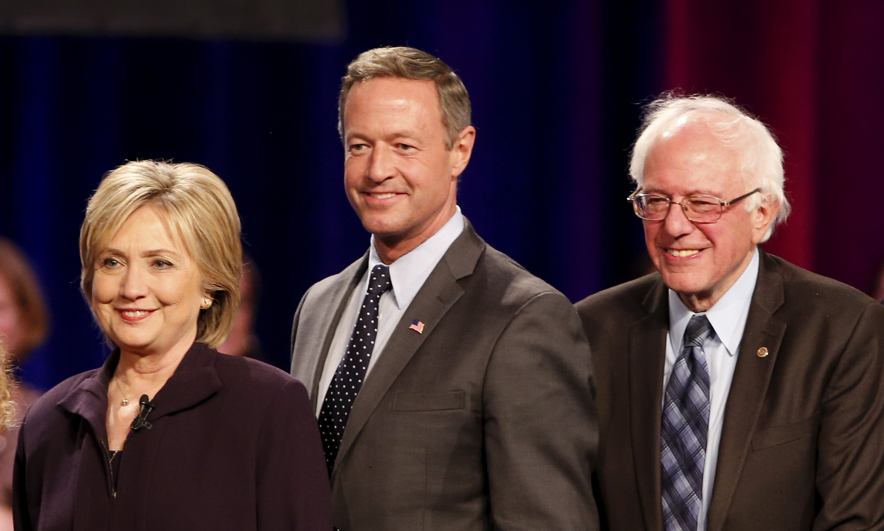 democratic debate 2016 clinton sanders o malley head to
