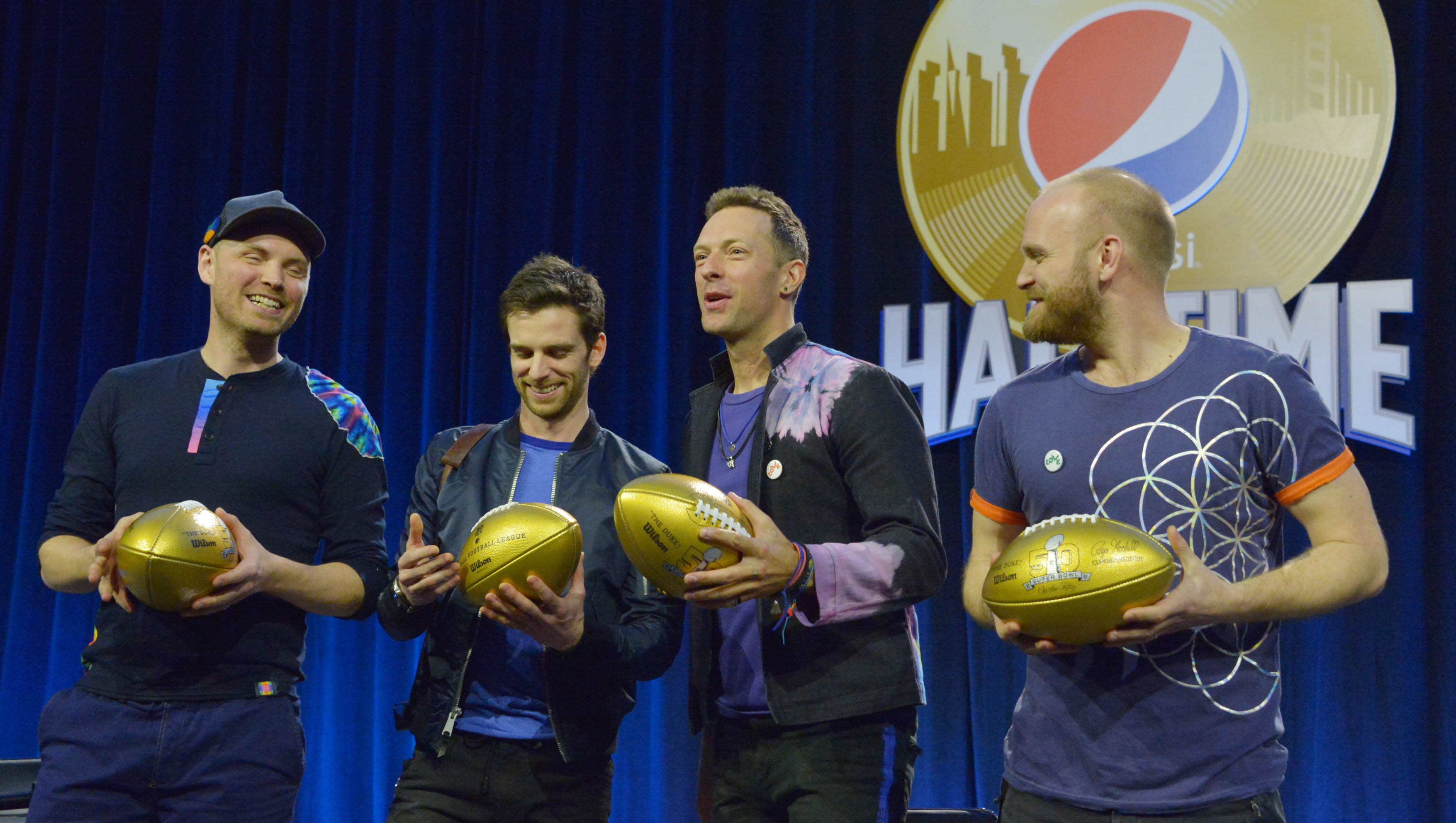 Image result for Coldplay Press Conference