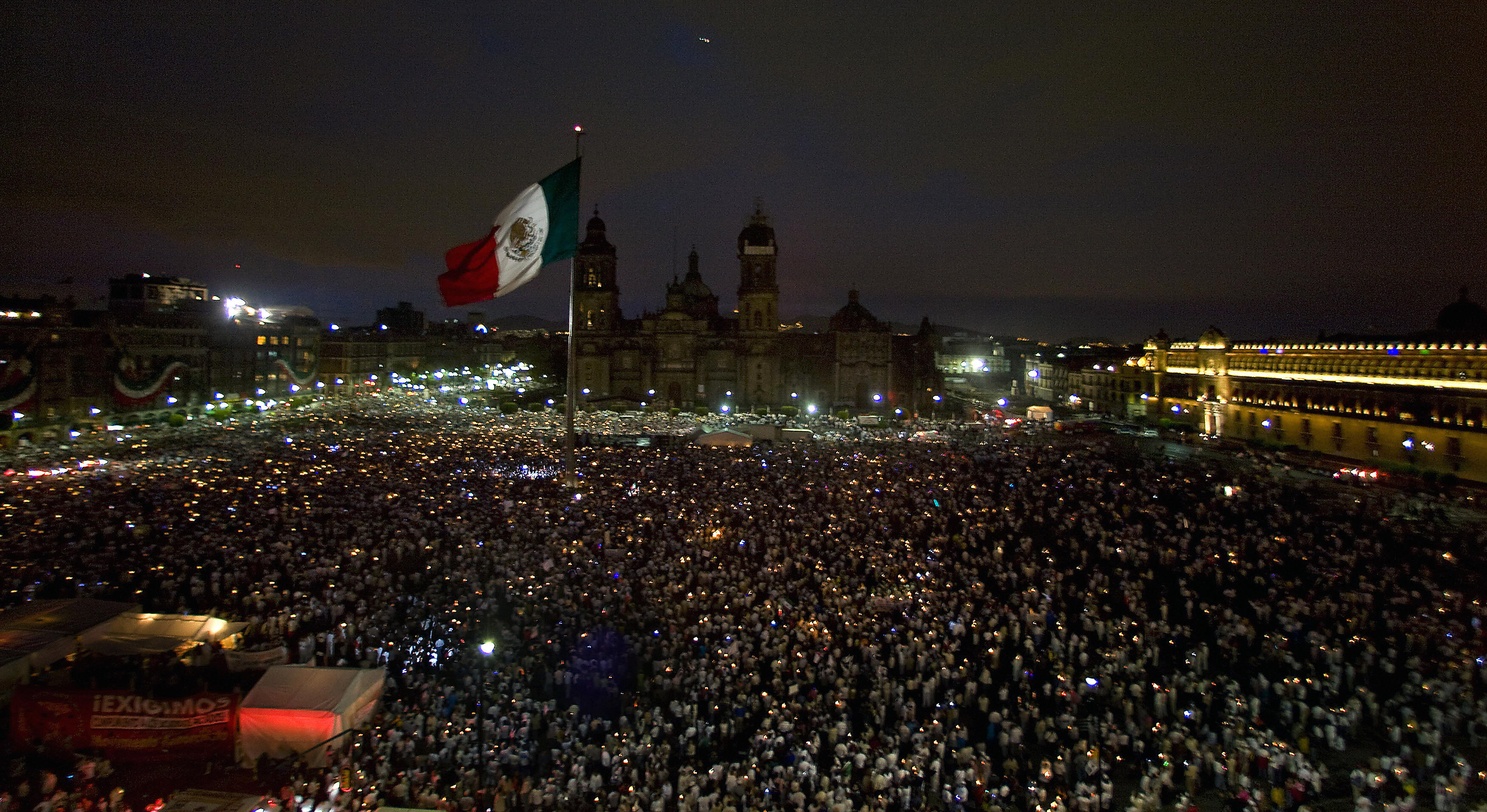 el grito - Mexican Independence Day Celebration