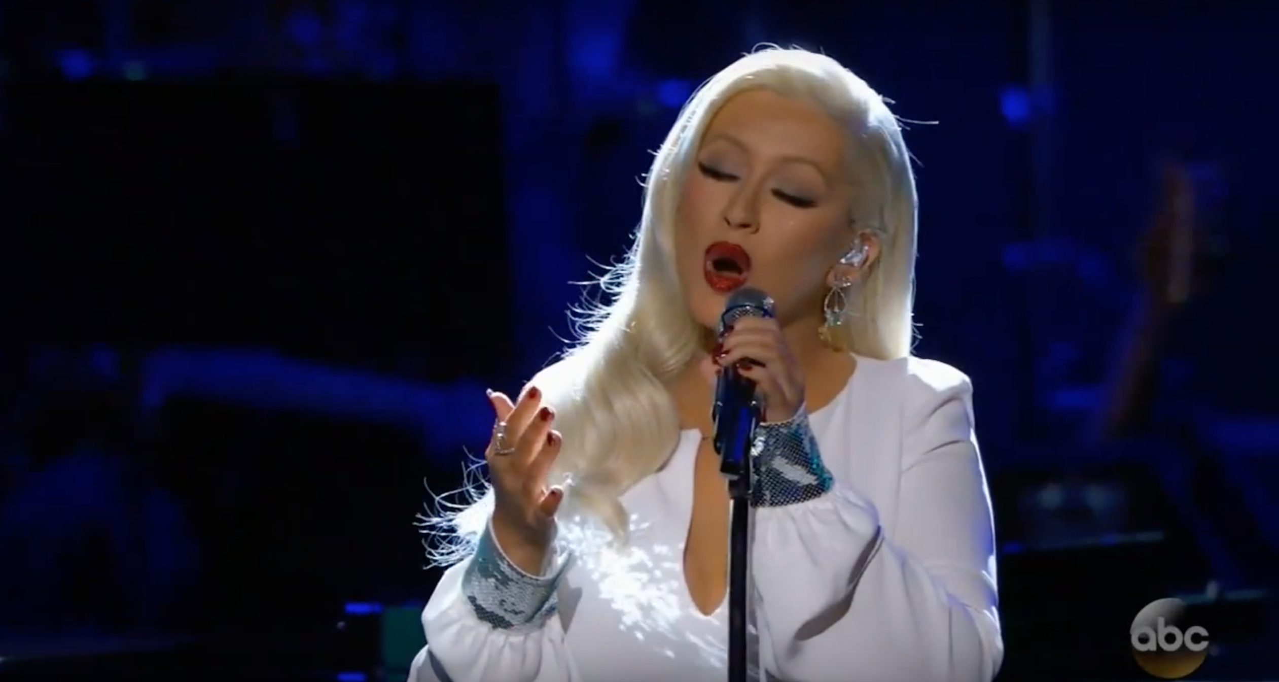 Christina Aguilera Resurfaces With Magical Rendition Of