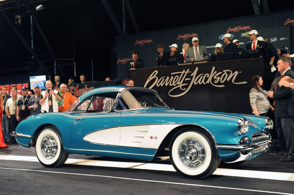 270k Corvette Gm Ceo Dan Akerson 39 S 1958 Corvette Auction