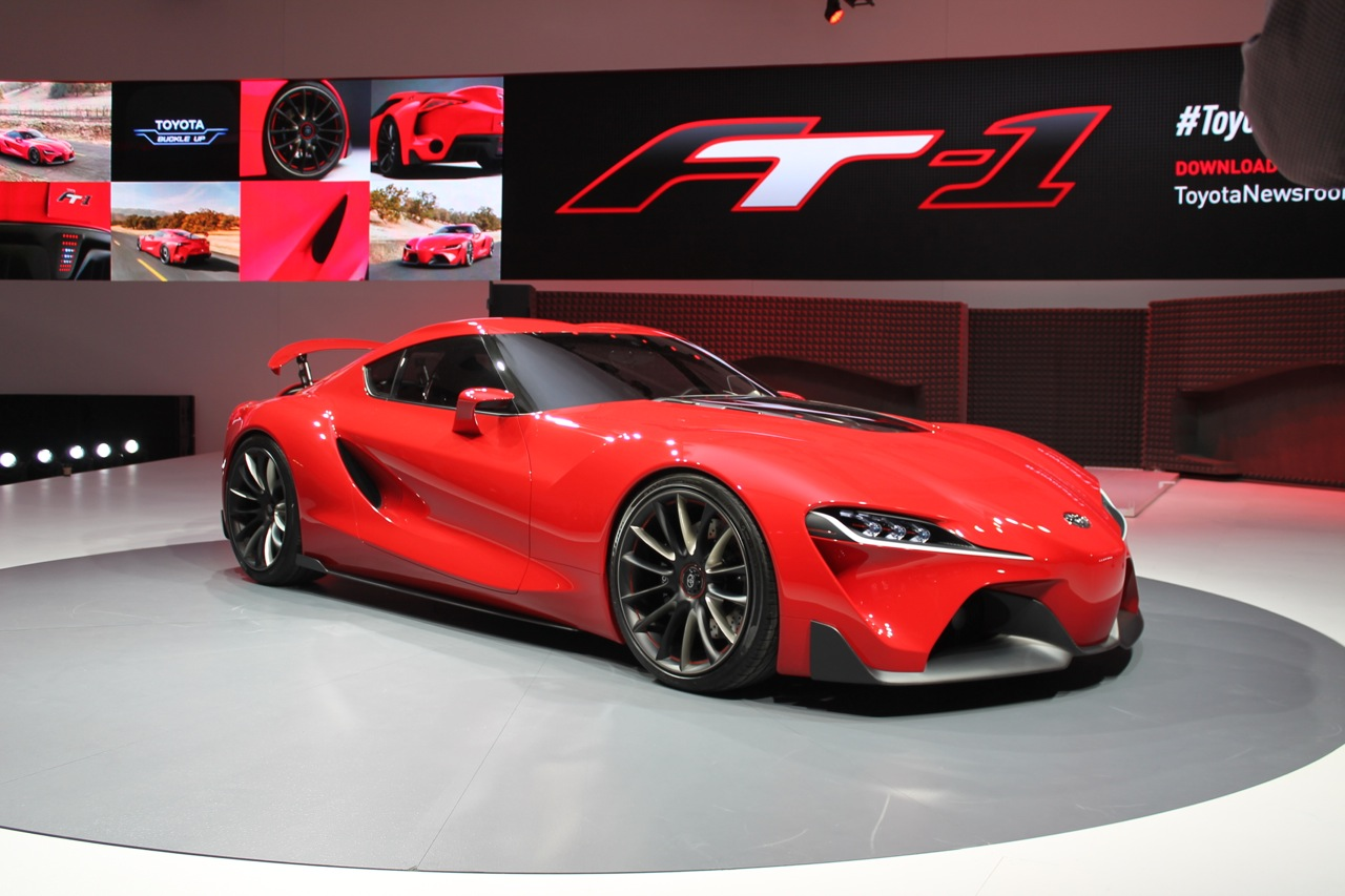 Toyota Of Surprise >> Toyota FT-1 Concept Is 2016 Supra: Sports Car Rebirth ...
