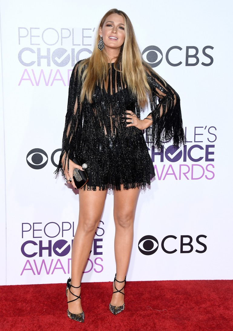 People's Choice Awards 2017 Red Carpet Photos: Blake Lively