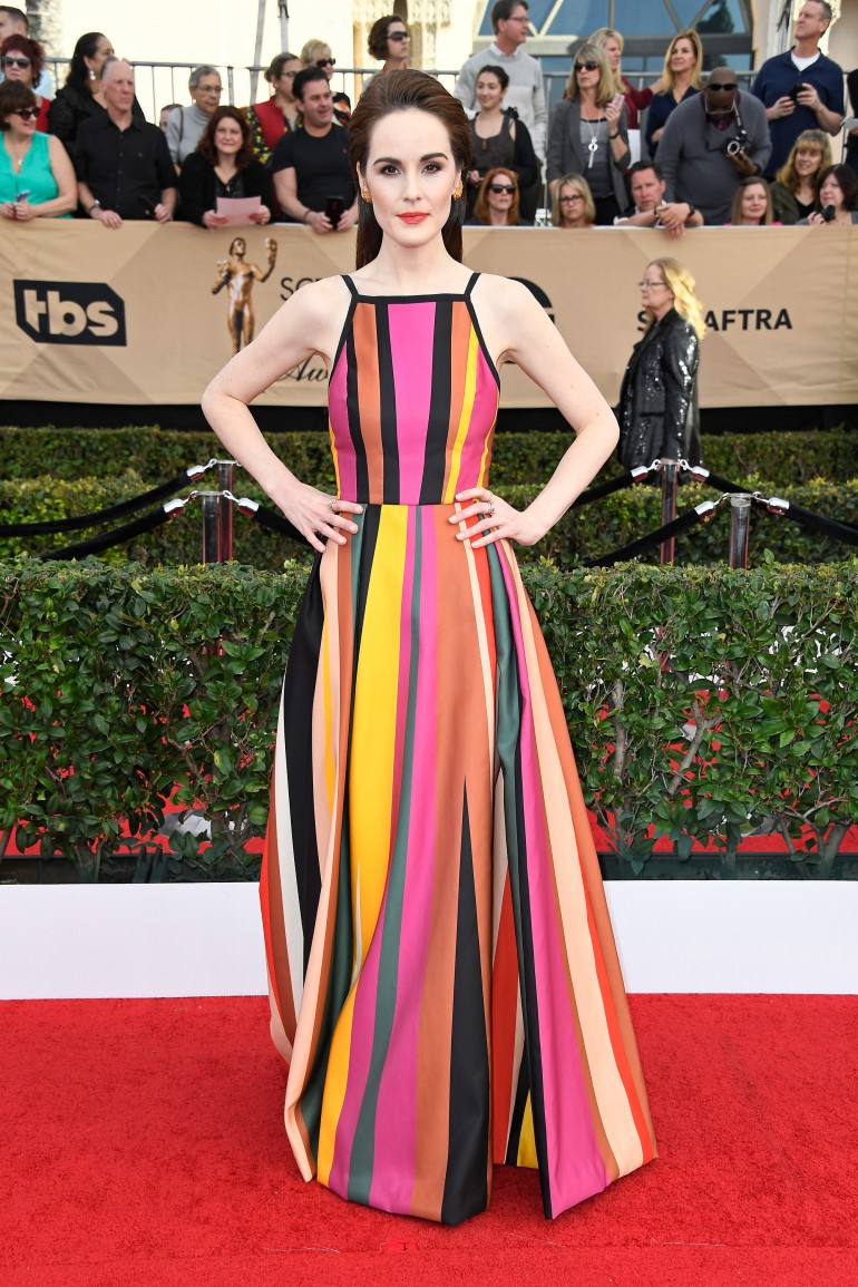 SAG Awards Red Carpet Photos: Michelle Dockery