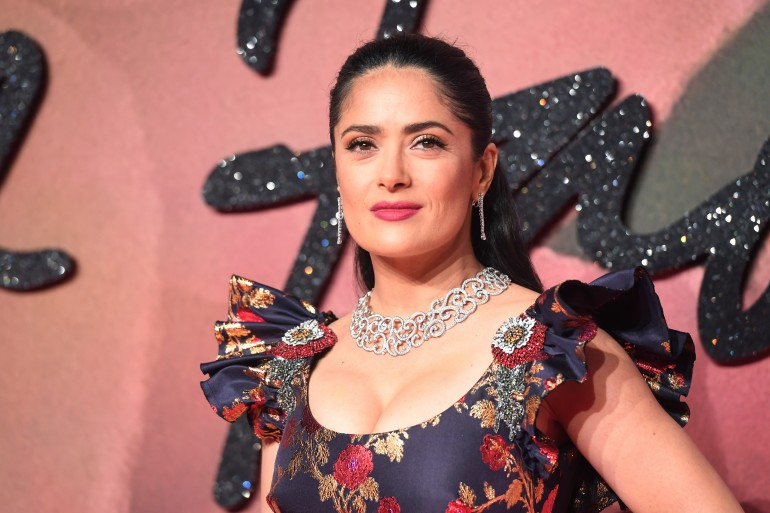 In Pictures: Salma Hayek's 50 Hottest Looks