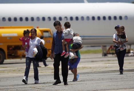 Guatemalan families deported