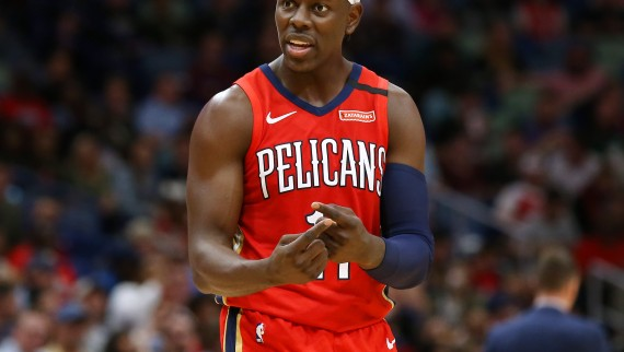 Jrue Holiday #11 of the New Orleans Pelicans