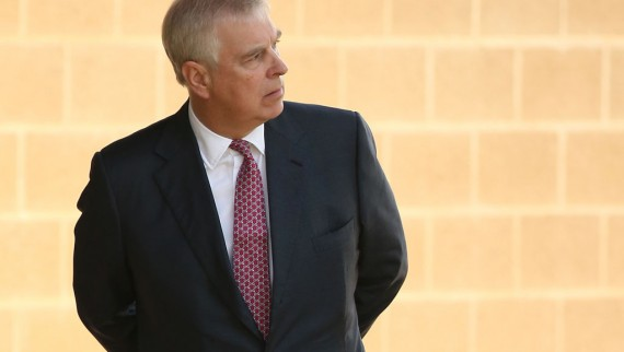 File picture of Prince Andrew