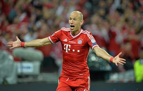 2013 Uefa Champions League Arjen Robben Nets Game Winner In 89th Minute As Bayern Munich Takes Home 2013 Champions League Crown