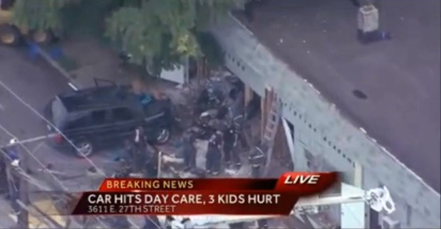 Car Crashes Daycare And Injures Children: Kansas City Police Tell