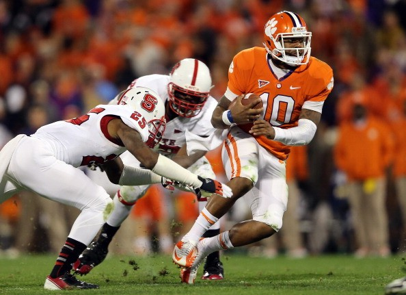 Clemson Tigers Vs North Carolina State Wolfpack When And