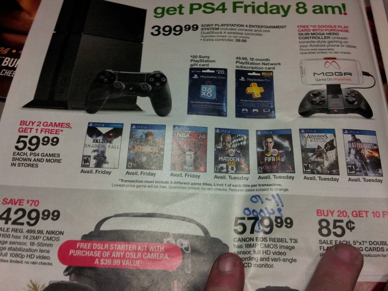Ps4 Release Date Rumors Target To Offer Buy 2 Get 1 Free Deal On Games During Launch Week