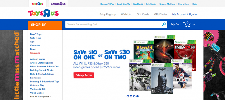 Toys R Us Black Friday Deals Leak Online: PS3 And Xbox 360 Consoles