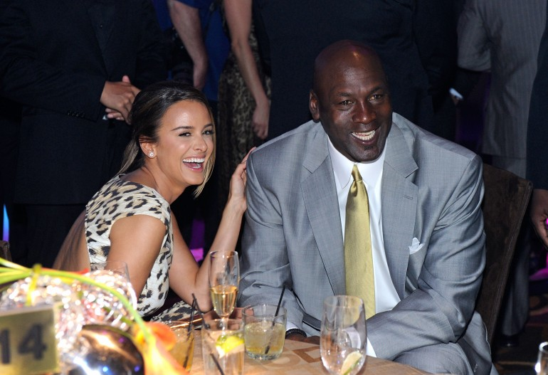 outlet store 952d0 9c099 Yvette Prieto, Michael Jordan Have Twin Girls! Find Out What ...