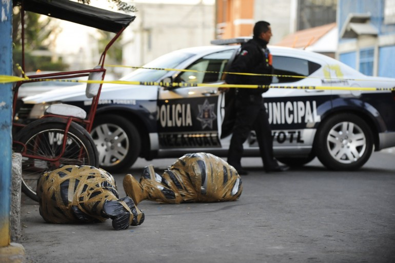 Mexico Drug War News: Bodies Wrapped In Plastic Delivered To Streets