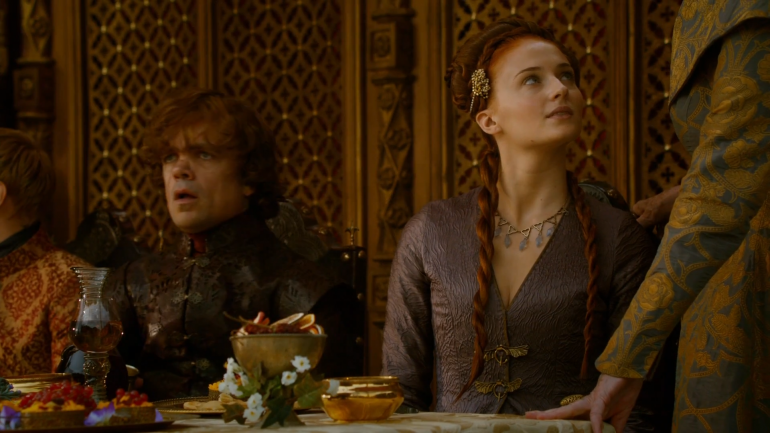 Game Of Thrones Purple Wedding.Game Of Thrones Season 4 Spoilers Did Sansa Stark Leave Kings