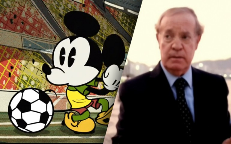 World Cup 2014 Viral Videos: Watch Mickey Mouse Play Soccer
