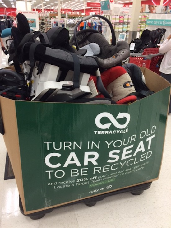 What To Do With Old Car Seats >> National Baby Safety Month Target Popular Car Seat Trade In