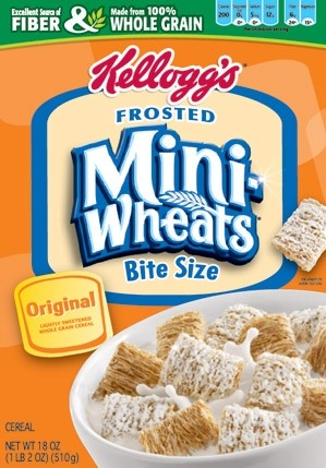Kellogg's® Frosted Mini-Wheats® Bite Size cereal