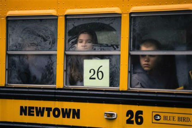 Newtown goes back to school