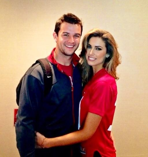 Katherine Webb and boyfriend AJ McCarron