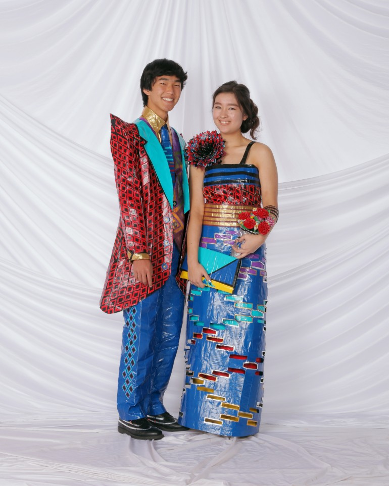 Duct Tape Prom Dress: 12 Innovative Prom Ensembles Made From Tape ...