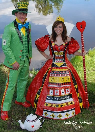 Duct Tape Prom Dress 12 Innovative Prom Ensembles Made From Tape