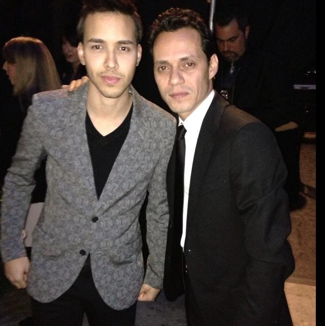 Prince Royce and Marc Anthony