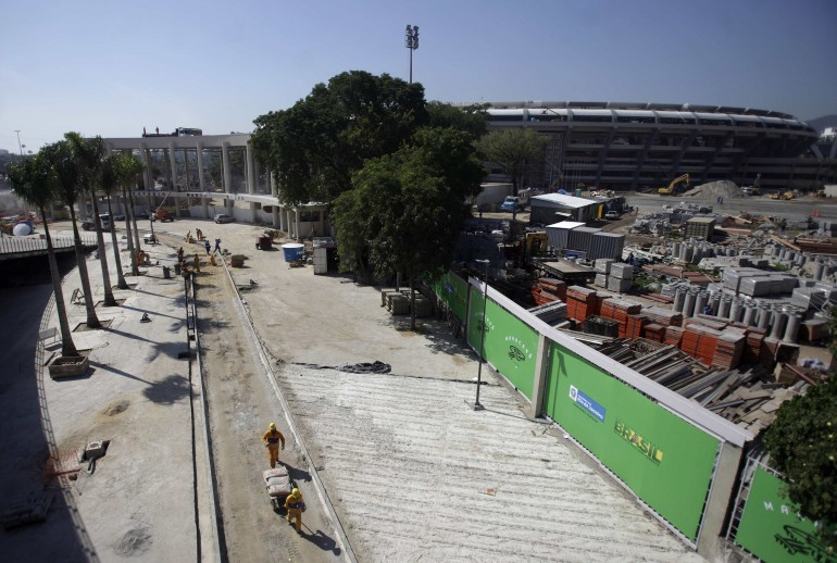 2014 fifa world cup brazil  maracan u00e3 stadium in rio de