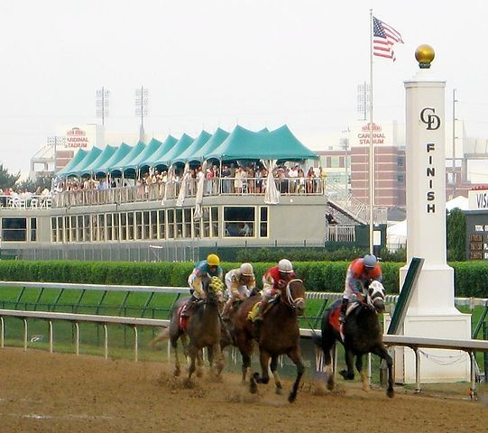 2007 racehorses in the Kentucky Derby