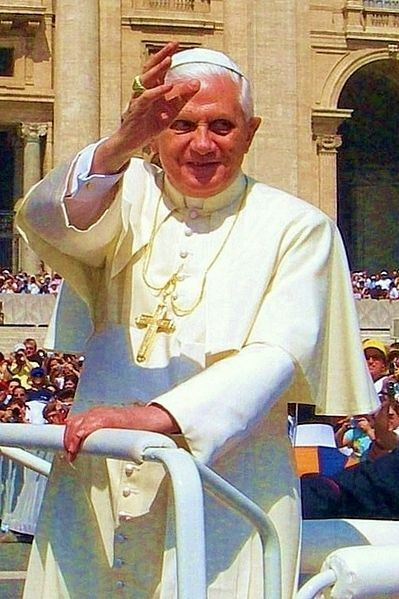 Pope Benedict Returns To His Vatican Home To Live