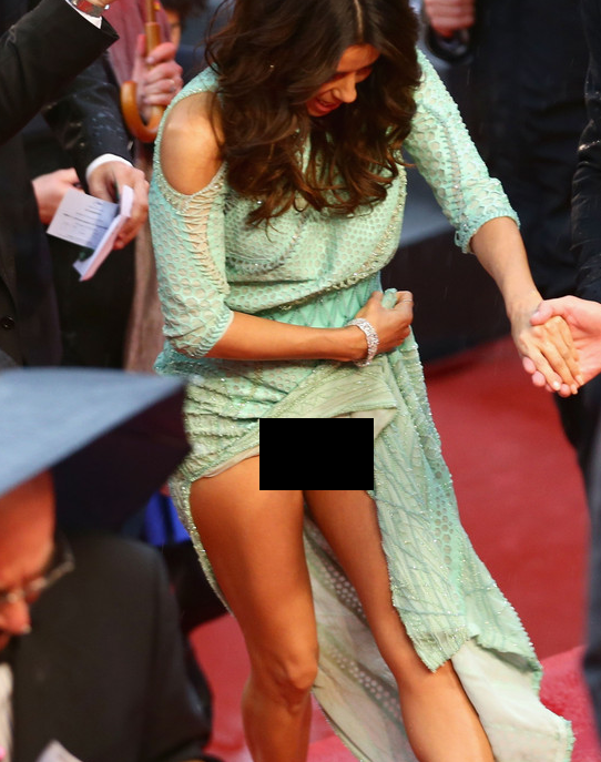 Top Celebrity Wardrobe Malfunctions From Eva Longoria Cannes 2013