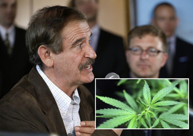 Vicente Fox Supports Legalization Of Marijuana
