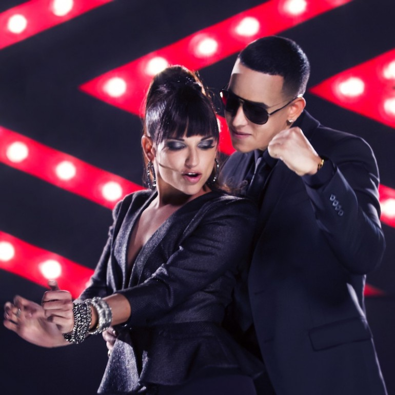 Daddy Yankee and Natalia Jiménez