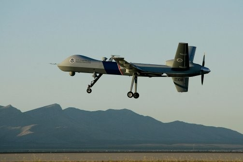 A Predator drone equipped with VADER
